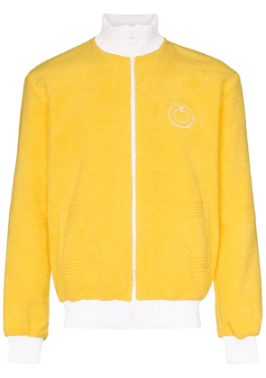 Casablanca Terry zip-up track jacket - Yellow
