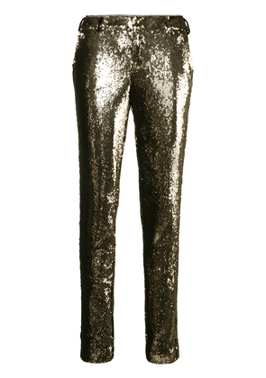 Zadig & Voltaire Prune sequin trousers - Gold