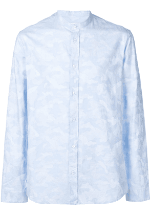 Zadig & Voltaire camouflage print shirt - Blue