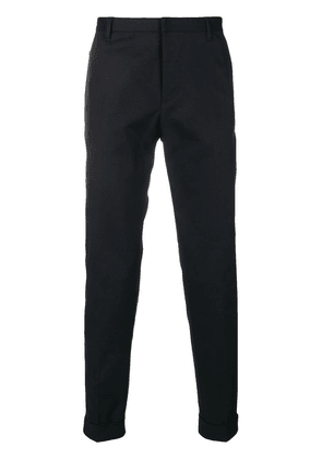 Emporio Armani high rise tailored trousers - Blue