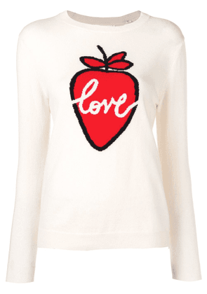 Chinti & Parker Love knitted sweater - Neutrals