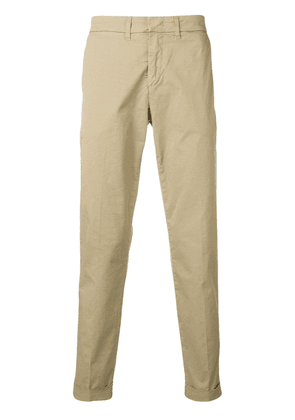 Fay slim fit chinos - Neutrals