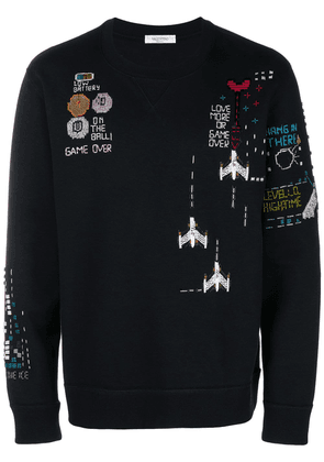 Valentino Video Game sweater - Black