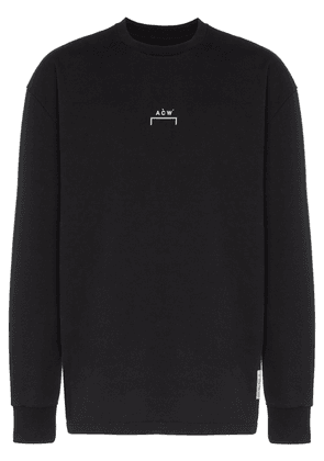 A-Cold-Wall* logo print sweatshirt - Black