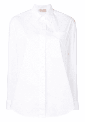 Twin-Set pointed collar shirt - White