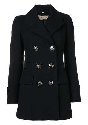 Burberry double breasted short coat - Blue