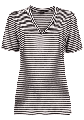 Tufi Duek applique striped T-shirt - Black