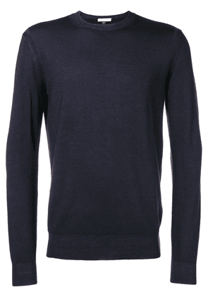 Paolo Pecora long-sleeve fitted sweater - Blue