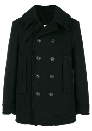 Maison Margiela double-breasted fitted coat - Black
