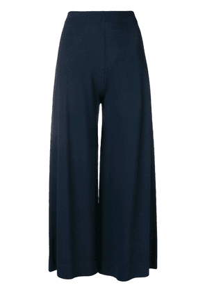 D.Exterior cropped trousers - Blue