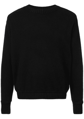 The Elder Statesman crew neck sweater - Black