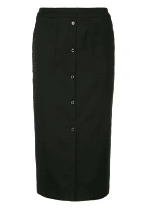 Guild Prime button front skirt - Black