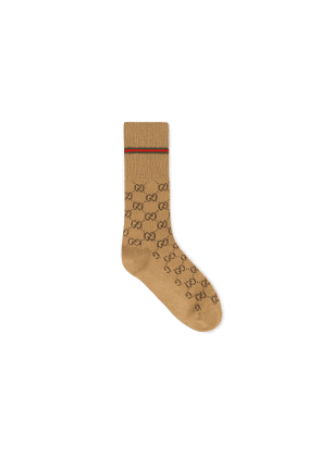 GG cotton socks with Web