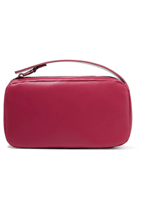 Marni - Two-tone Leather Clutch - Burgundy