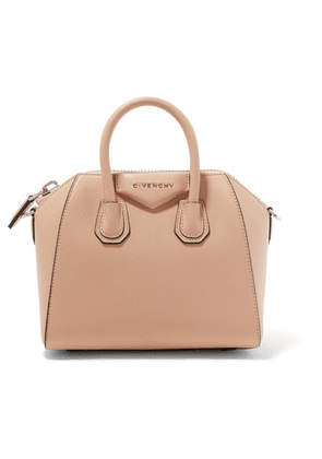 Givenchy - Antigona Mini Textured-leather Tote - Neutral