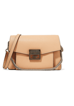 Givenchy - Gv3 Small Leather Shoulder Bag - Beige