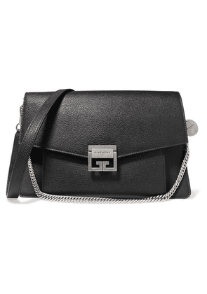 Givenchy - Gv3 Medium Textured-leather Shoulder Bag - Black