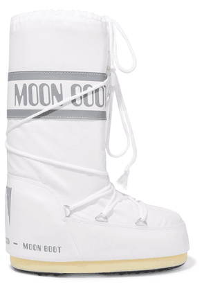 Moon Boot - Shell And Rubber Snow Boots - White