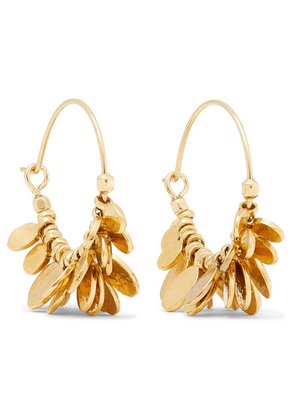 Isabel Marant - Gold-tone Hoop Earrings - one size