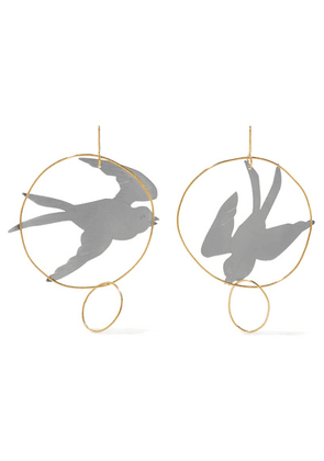 JW Anderson - Gold And Silver-tone Earrings - one size