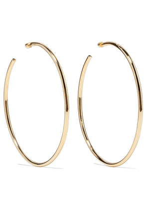 Jennifer Fisher - Lilly Gold-plated Hoop Earrings - one size