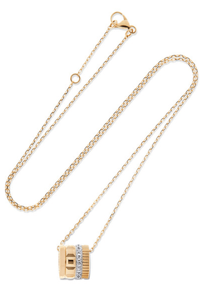 Boucheron - Quatre Radiant Edition 18-karat Yellow And White Gold Diamond Necklace - one size