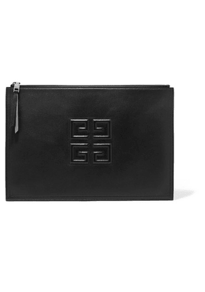 Givenchy - Embossed Leather Pouch - Black