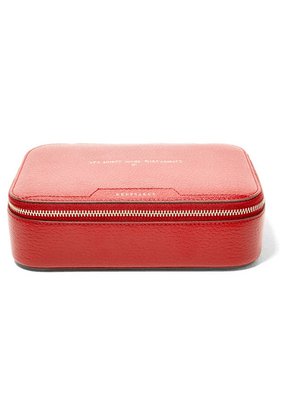Anya Hindmarch - Keepsake Large Embossed Textured-leather Case - one size