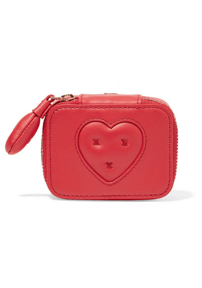 Anya Hindmarch - Keepsake Small Embroidered Leather Case - one size