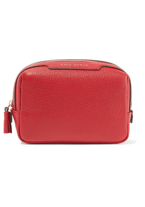 Anya Hindmarch - Face Admin Textured-leather Cosmetics Case - one size