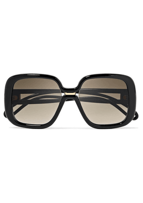 Givenchy - Square-frame Acetate Sunglasses - Black