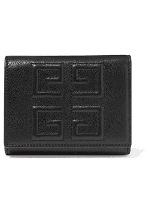 Givenchy - Embossed Textured-leather Wallet - Black