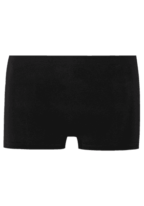 Hanro - Touch Feeling Stretch-jersey Boy Shorts - Black