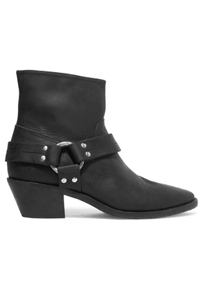 Golden Goose Deluxe Brand - Bretagne Distressed Leather Ankle Boots - Black
