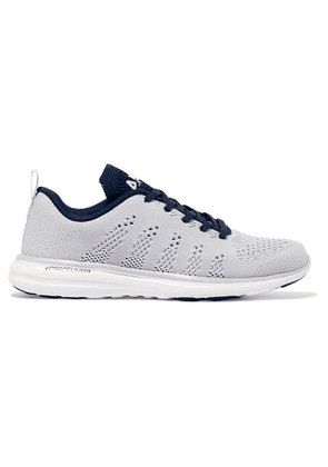 APL Athletic Propulsion Labs - Techloom Pro Mesh Sneakers - Light gray