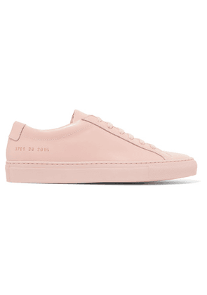 Common Projects - Original Achilles Leather Sneakers - Pink