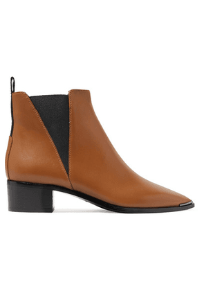 Acne Studios - Jensen Leather Ankle Boots - Brown