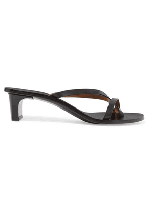 ATP Atelier - Toma Leather Mules - Black