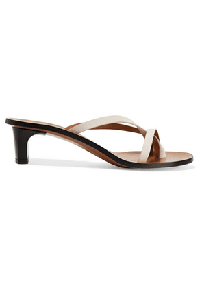 ATP Atelier - Toma Leather Sandals - White