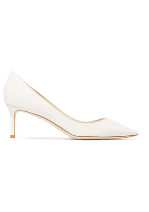 Jimmy Choo - Romy 60 Patent-leather Pumps - Neutral
