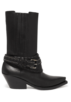 Zimmermann - Studded Leather Boots - Black