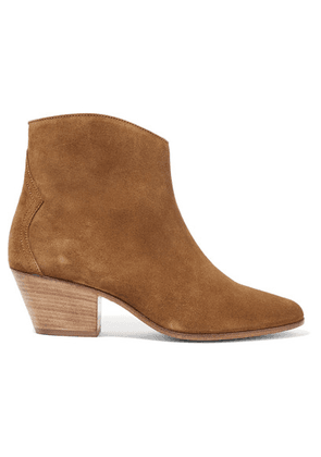 Isabel Marant - Dacken Suede Ankle Boots - Light brown