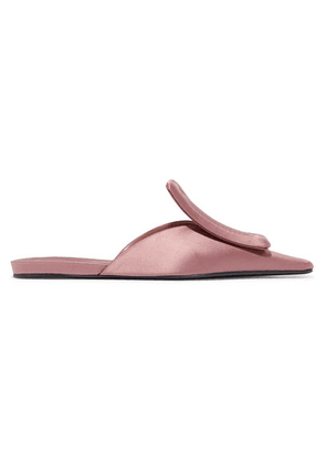 Marni - Satin Slippers - Antique rose
