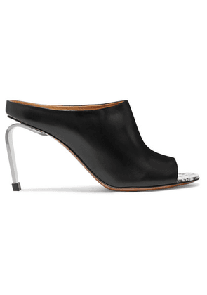 Clergerie - Maevaw Leather Mules - Black