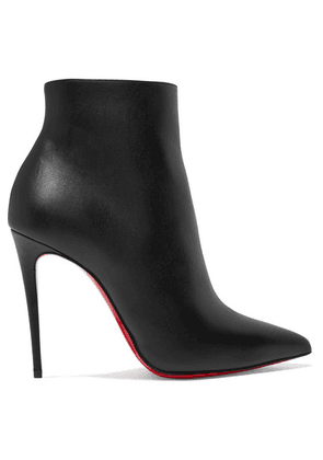 Christian Louboutin - So Kate 110 Leather Ankle Boots - Black
