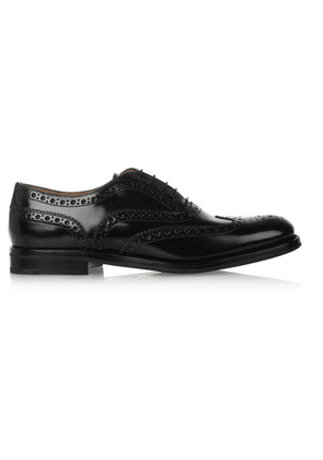 Church's - The Burwood Glossed-leather Brogues - Black