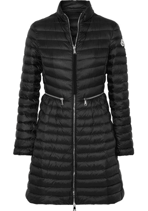 Moncler - Quilted Shell Down Coat - Black
