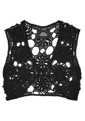 Marc Jacobs - Crocheted Cotton Top - Black