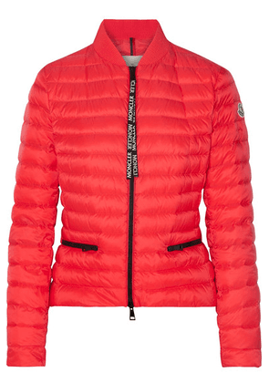 Moncler - Quilted Shell Down Jacket - Orange