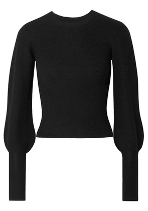 Theory - Ribbed Cashmere Sweater - Black